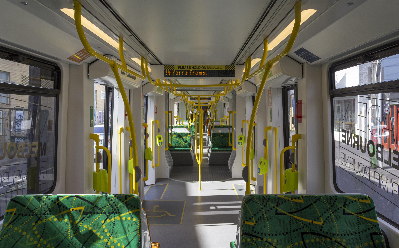 FileE Class Melbourne Tram Interior 2013JPG