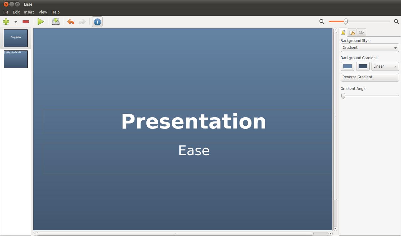 präsentationsprogramm