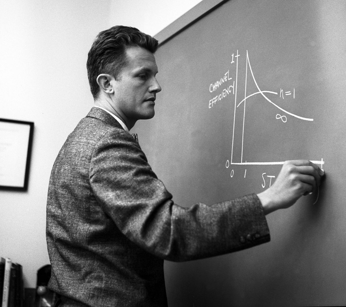 Eberhardt Rechtin, in September 1960, when he was Chief of the ''Electronics Research Section'' of the [[Jet Propulsion Laboratory