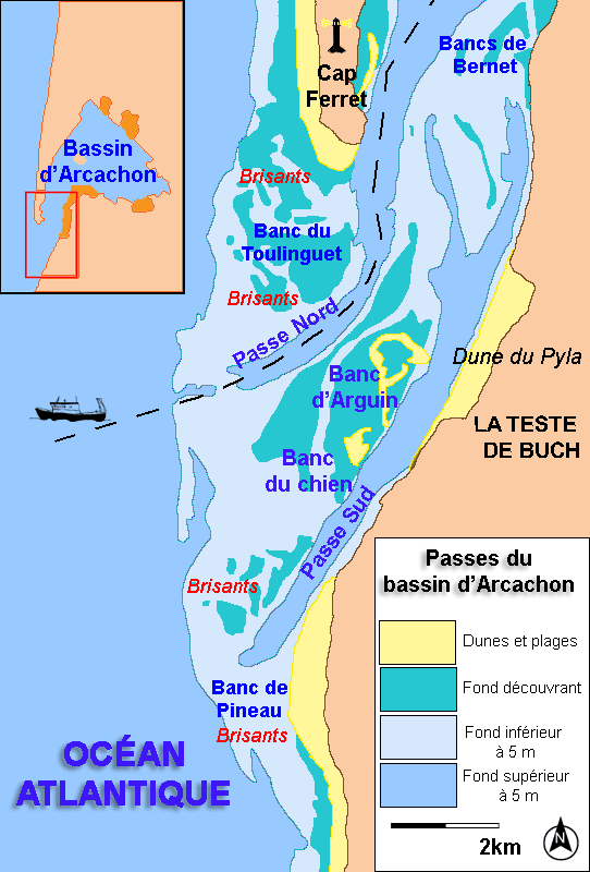 Passes du bassin d'Arcachon — Wikipédia