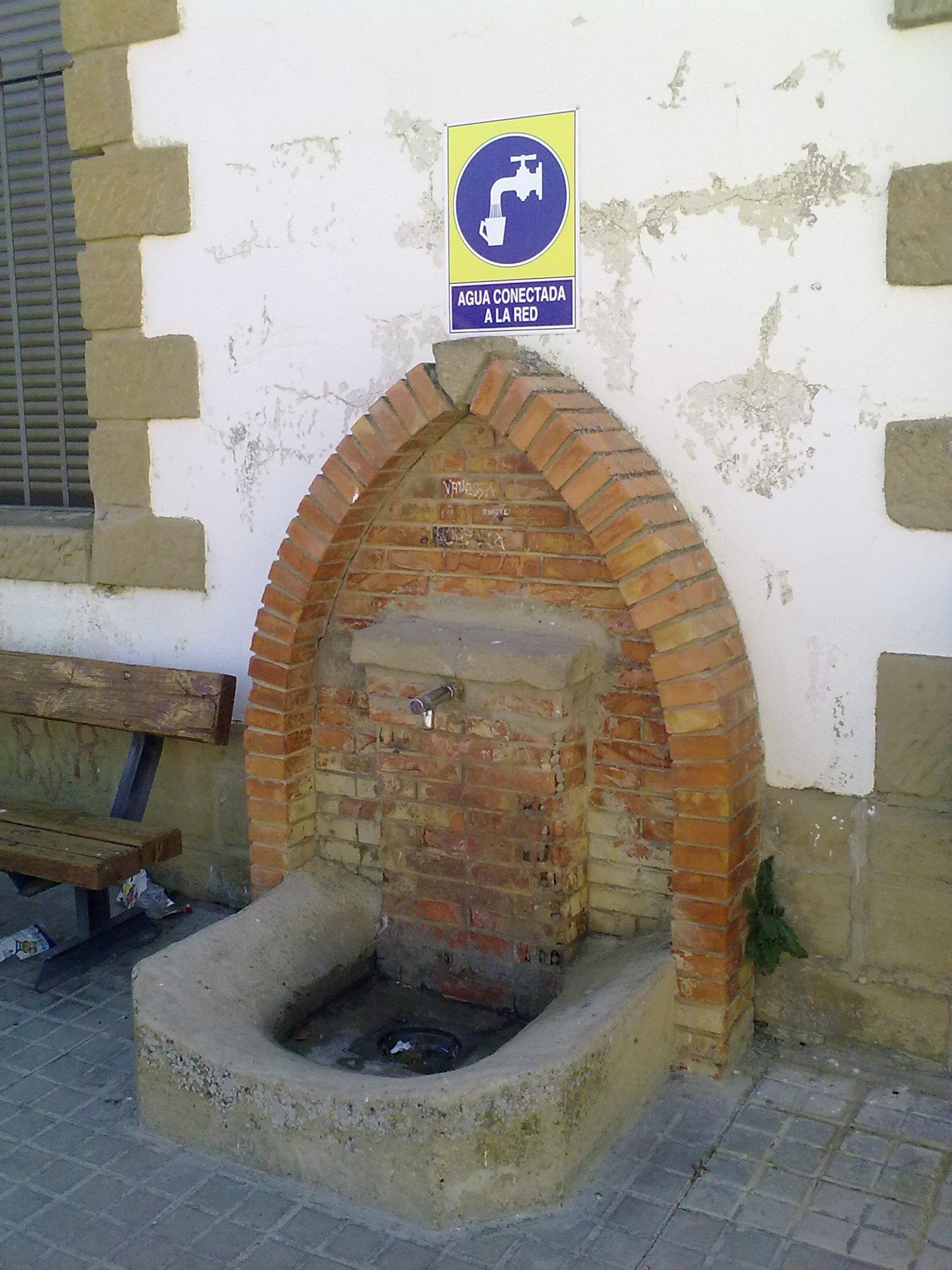installations de fontaines d'eau potable
