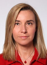Federica Mogherini is the current High Representative of the union.