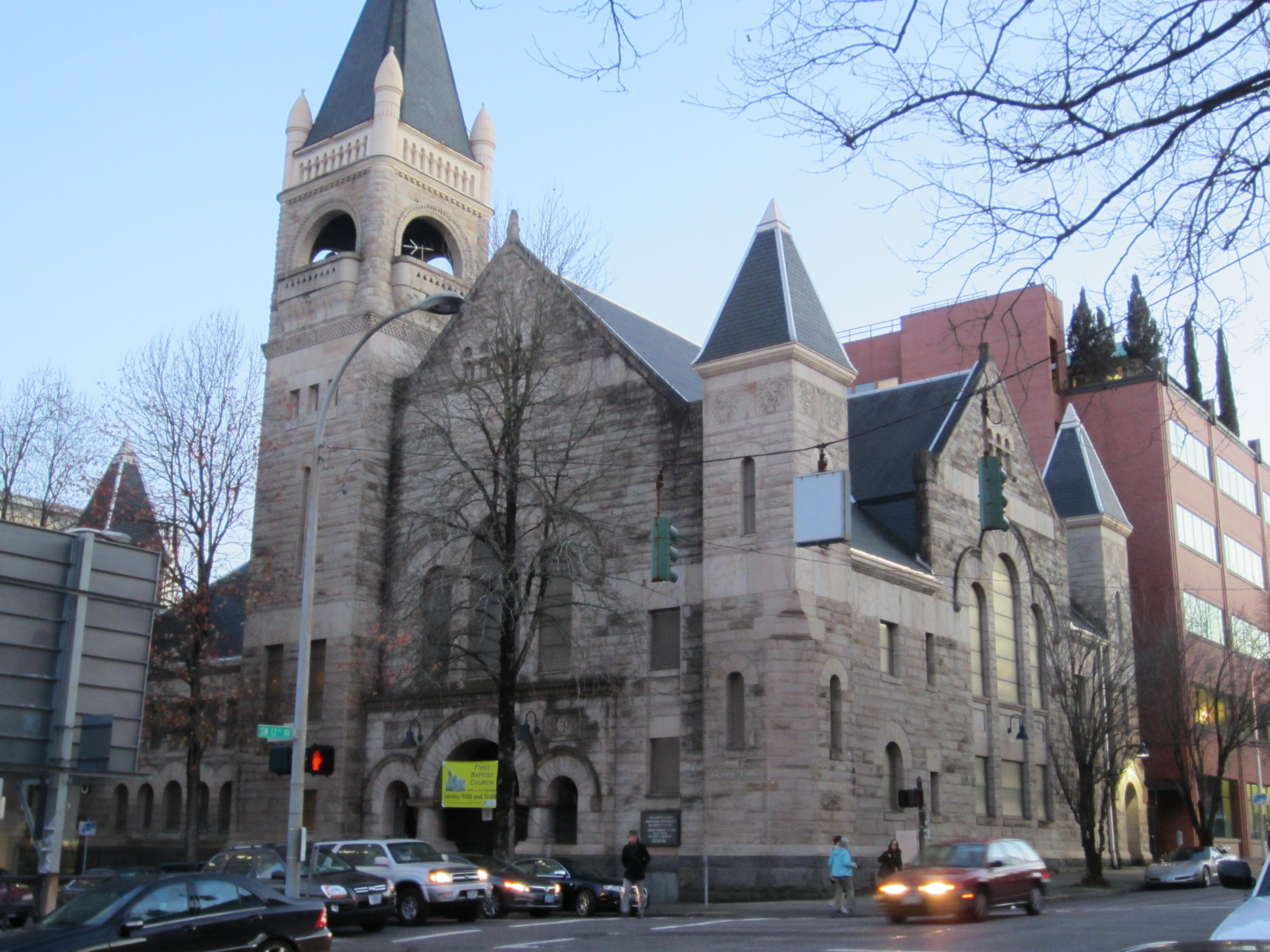 File:First Baptist Church, Portland, OR 2012.JPG