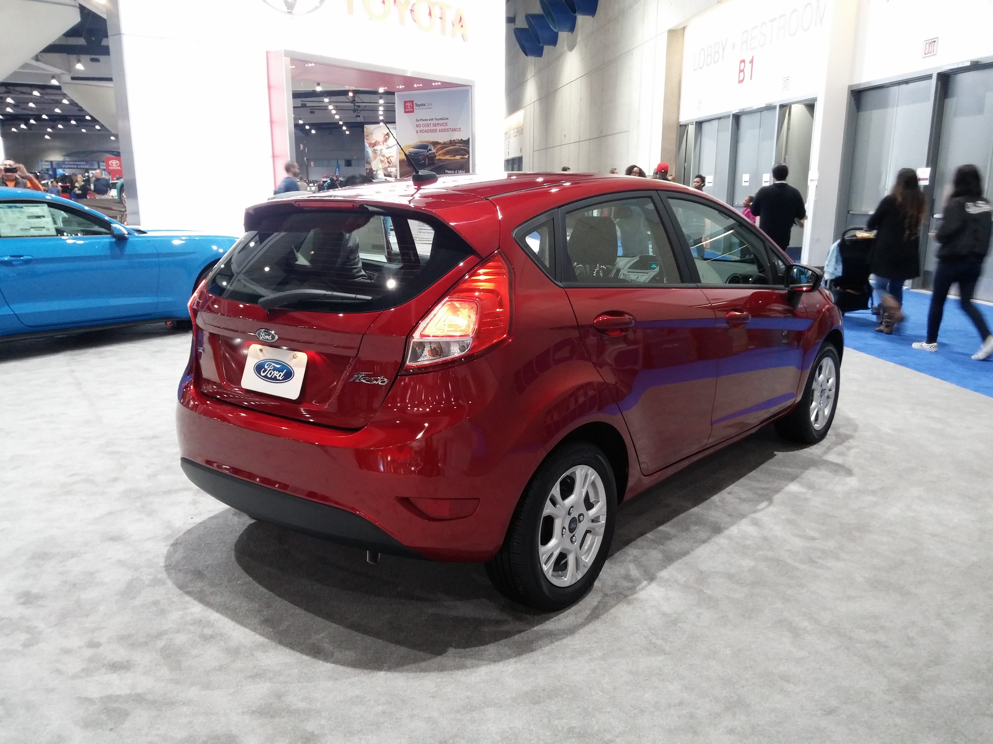 Toyotacare Roadside Assistance Number >> File Ford Fiesta 2017 Back Jpg Wikimedia Commons
