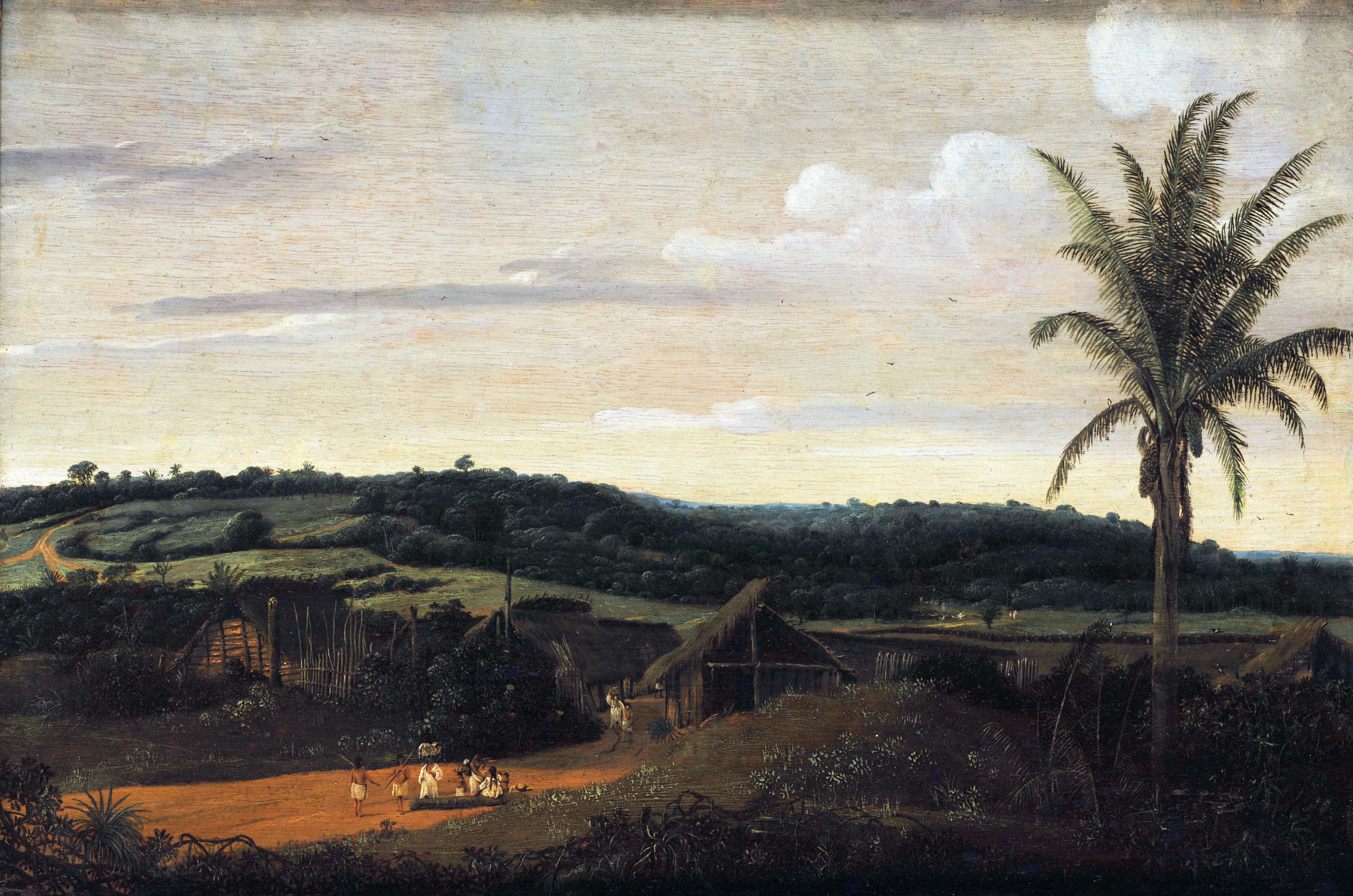 File:Frans Post - Mocambos, c. 1659.jpg