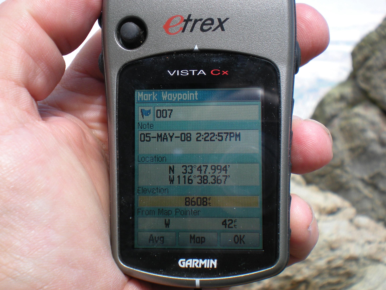 DRIVER UPDATE: GARMIN ETREX VISTA CX
