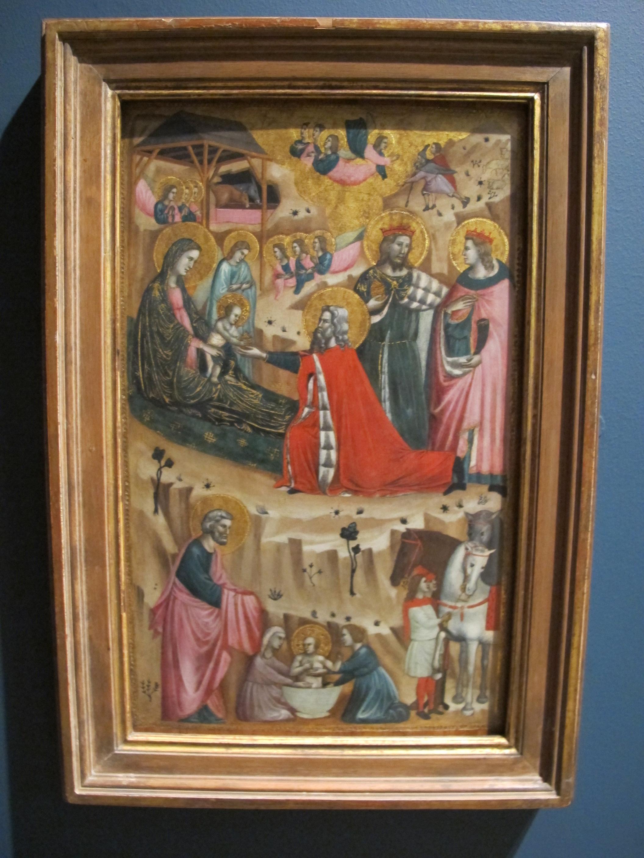 1326 >> File Giovanni Baronzio Nativita E Adorazione Dei Magi 1326 Ca Jpg