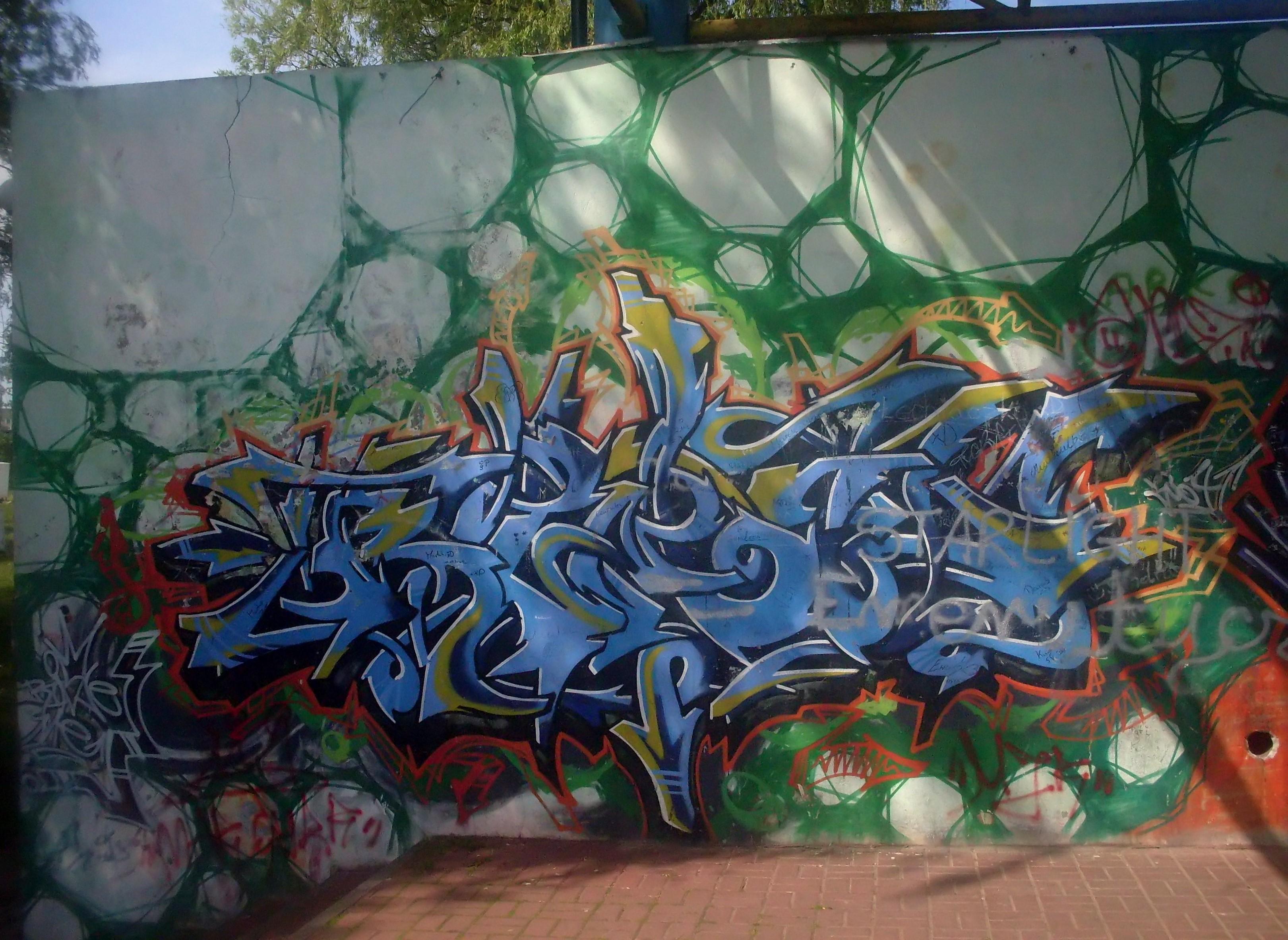 Filegraffiti at city park in gdynia obluze 2 jpg