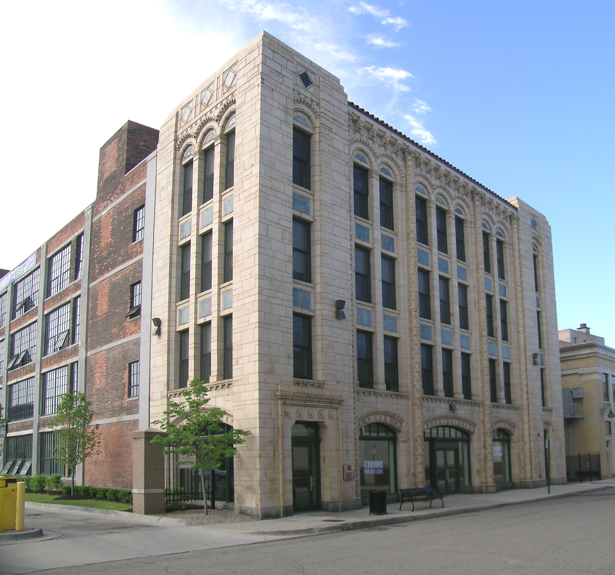 Detroit building for Building photography