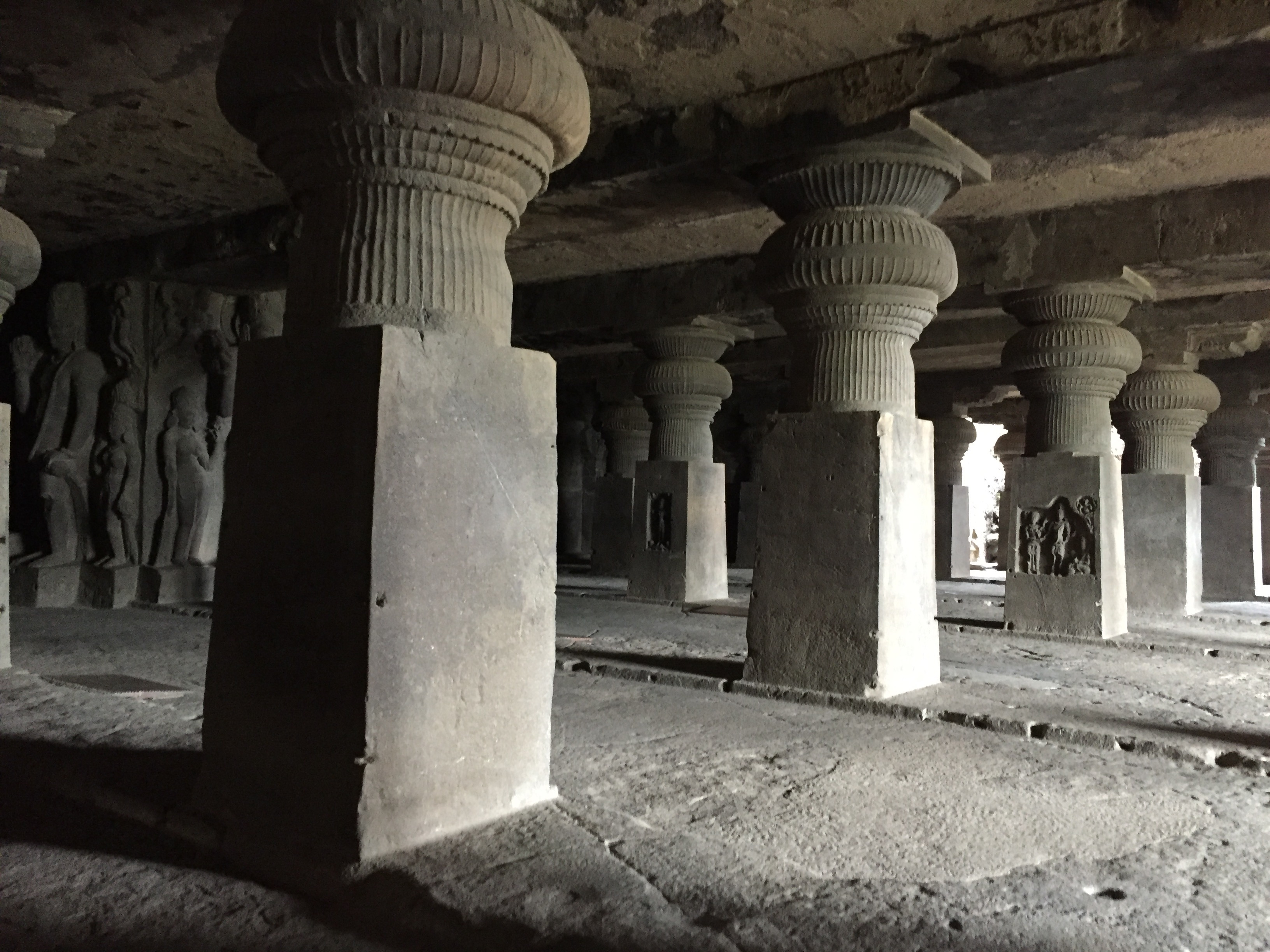 File hall symmetrical lay out cave ellora g wikimedia commons