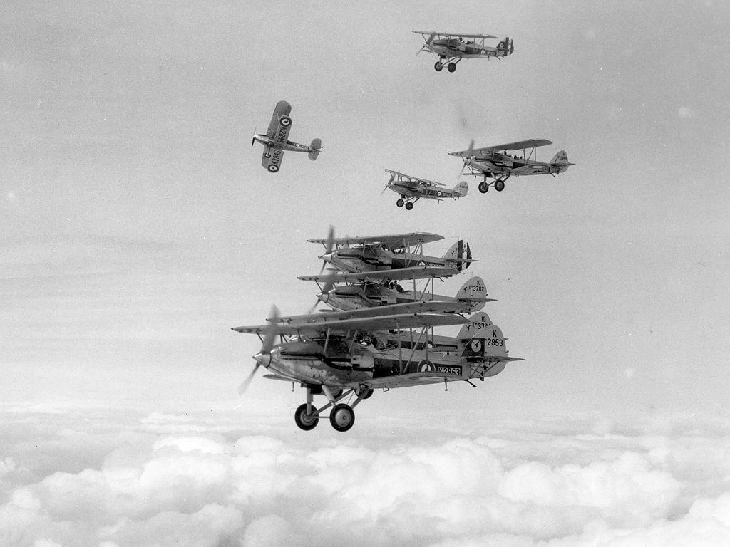 Обои самолеты, Hawker demon, nimrod. Авиация foto 12