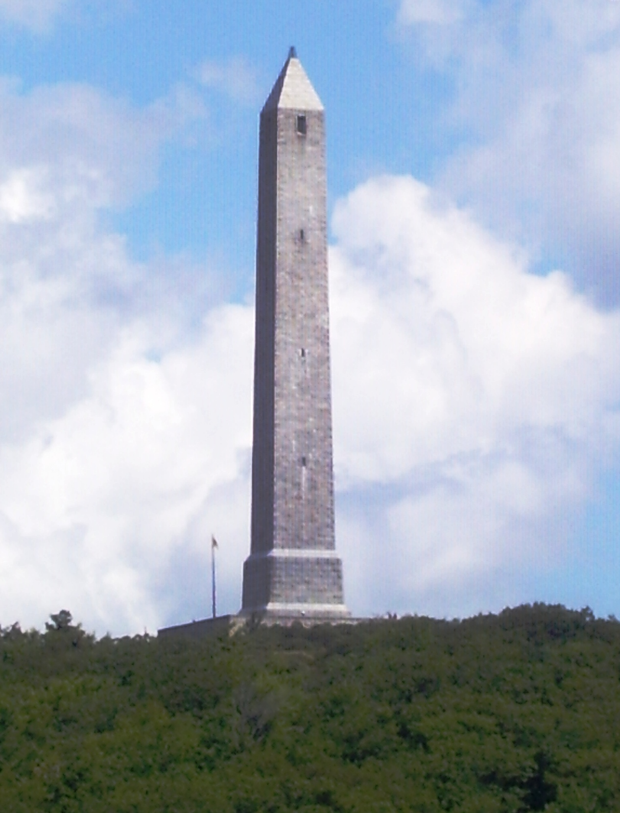 File high point monument from wikimedia commons for High pointe