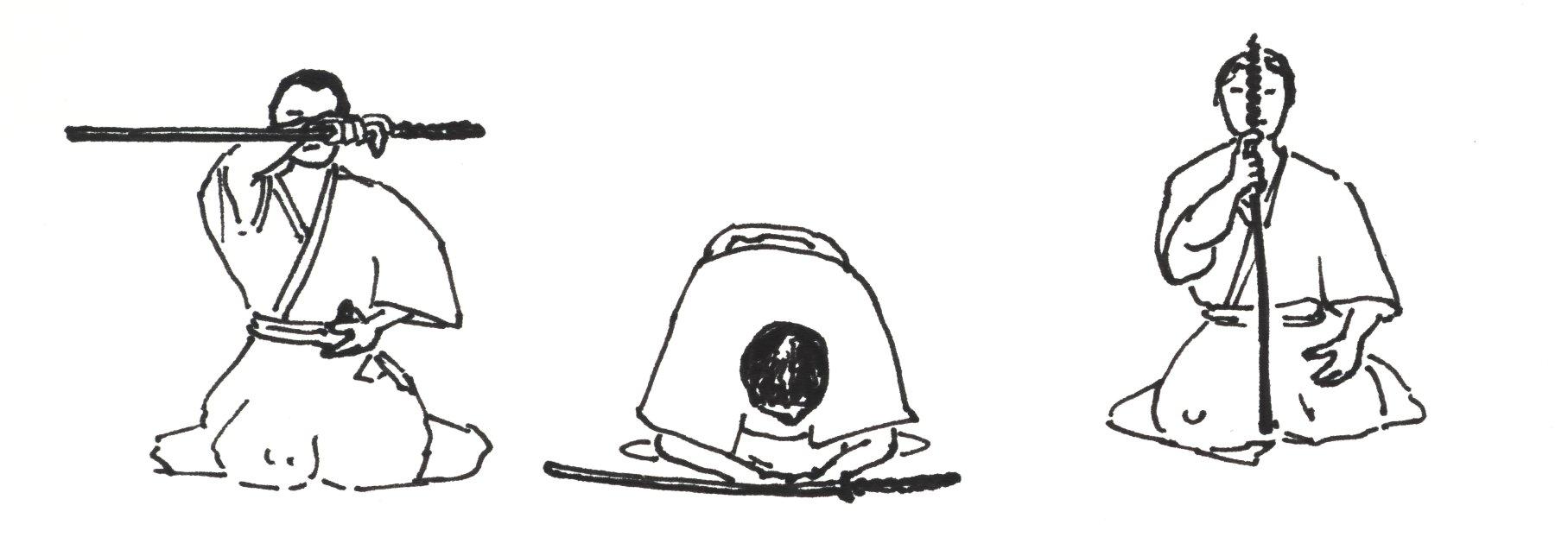 Iaidô Iaido_drawing_salute
