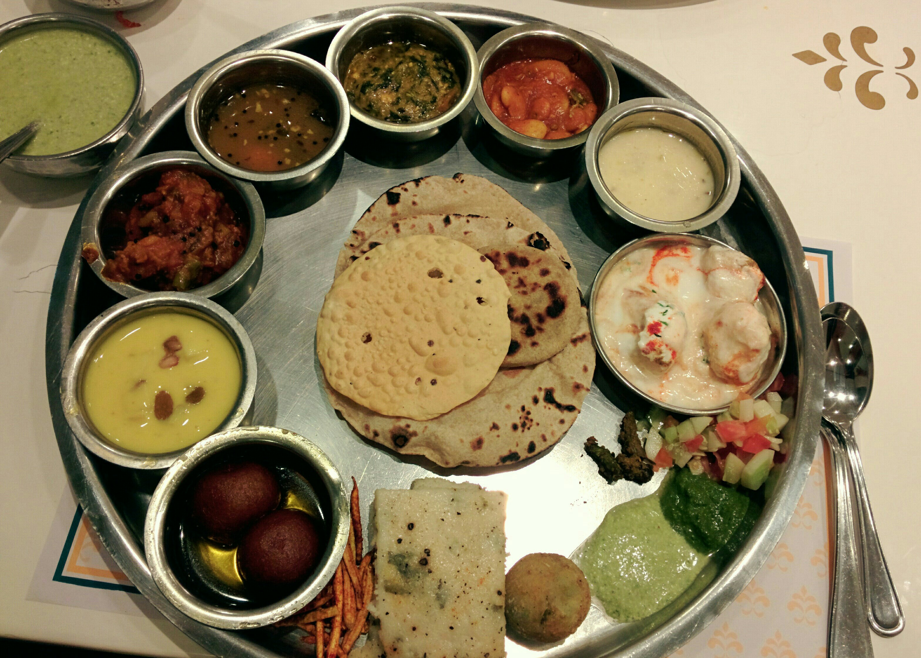 Image result for indian thali