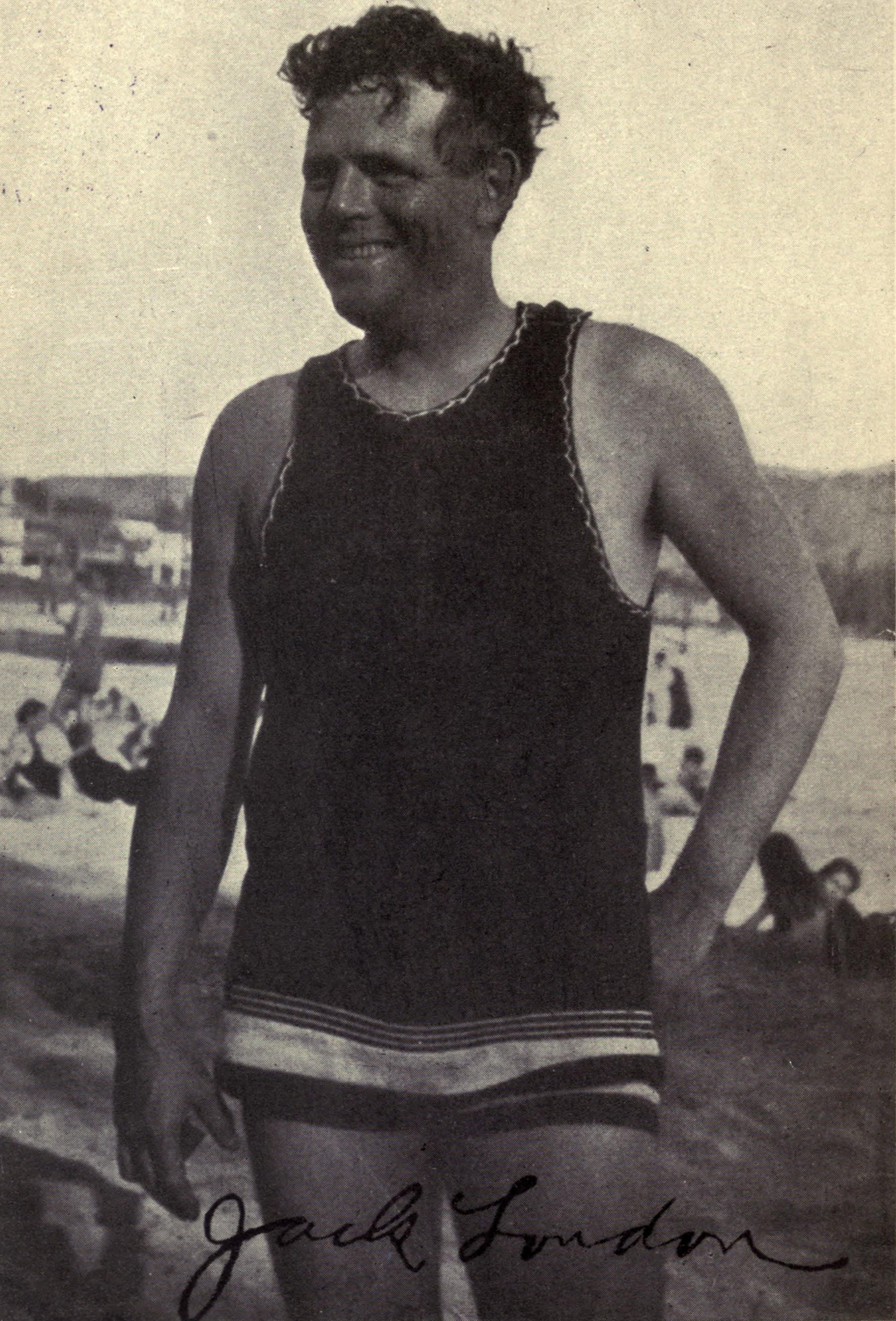 Jack London At Waikiki C