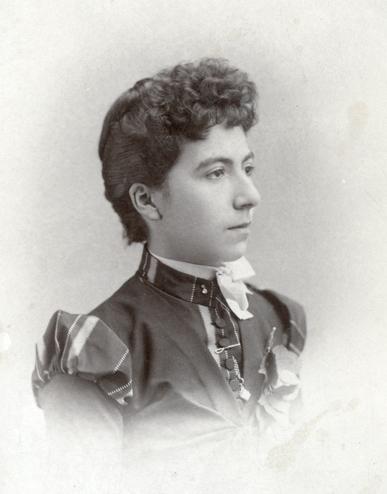 Josephine Sarah Marcus, 1881
