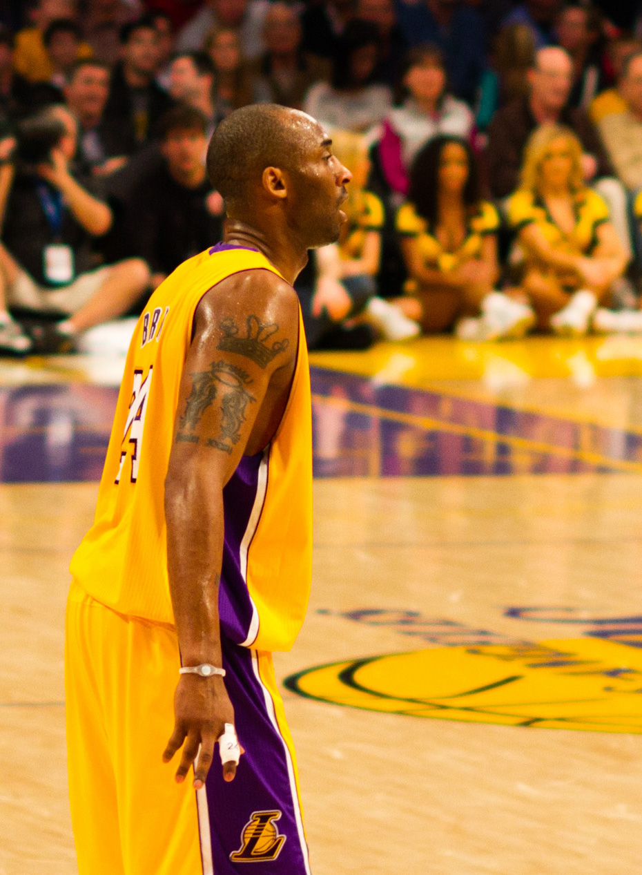 """Kobe Bryant CC"" by Wikimedia Commons is licensed under CC BY 2.0"