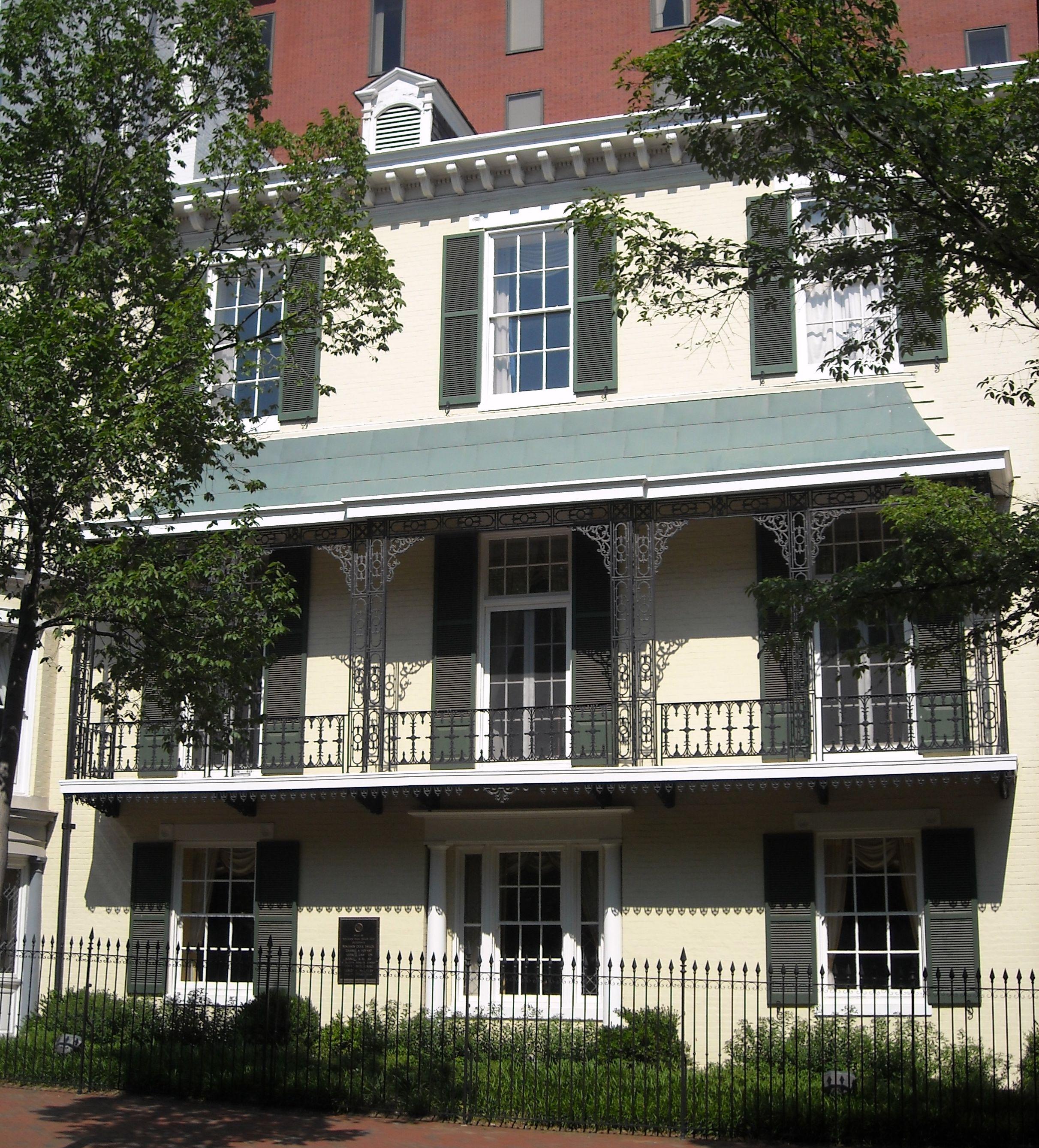 Benjamin Ogle Tayloe House  Wikiwand - Cp Morgan Homes Floor Plans