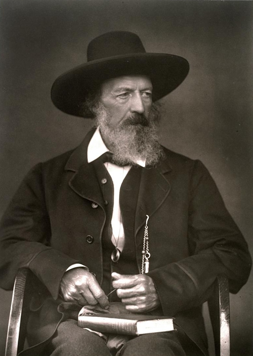 Depiction of Alfred Tennyson