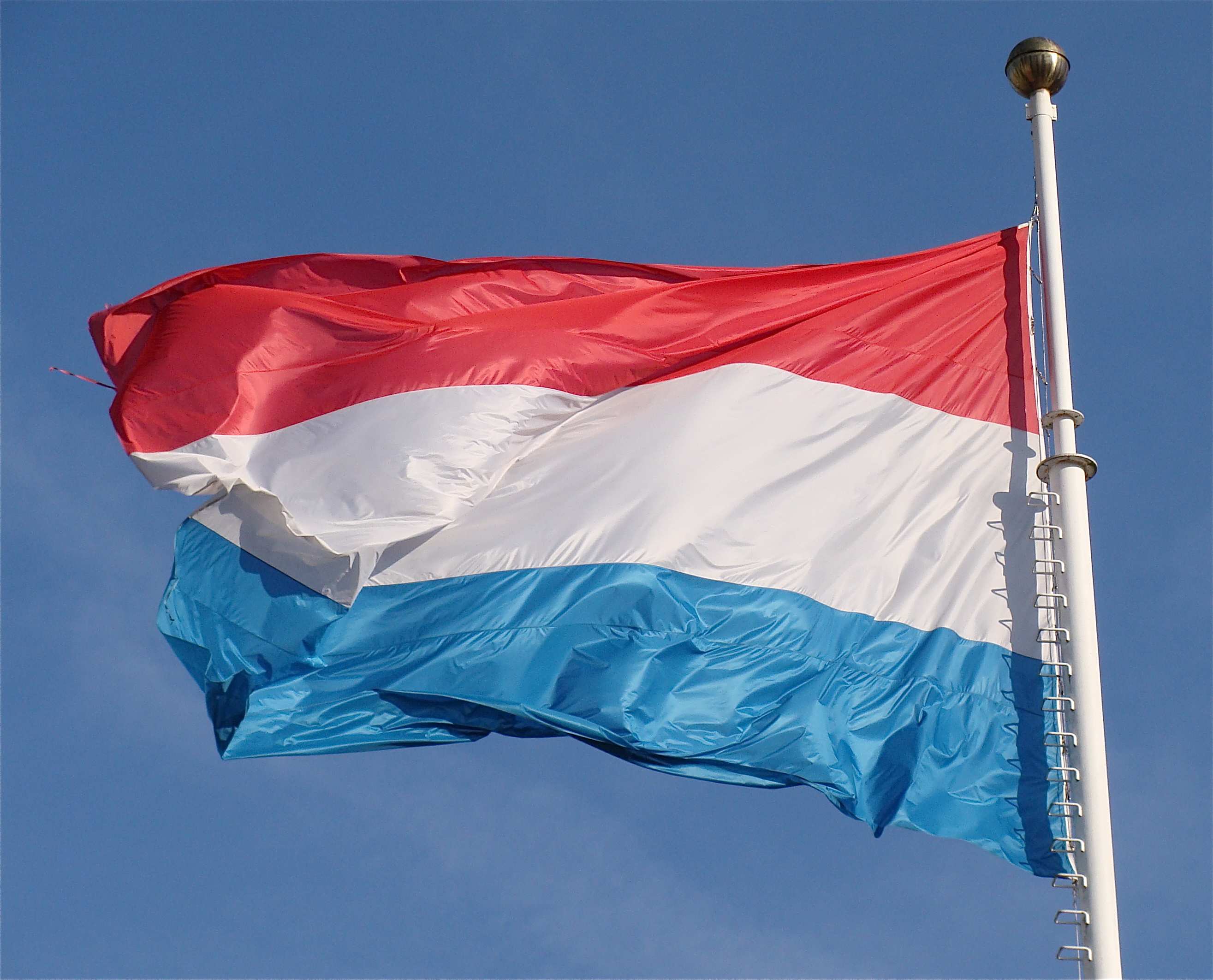 Image result for luxembourg flag
