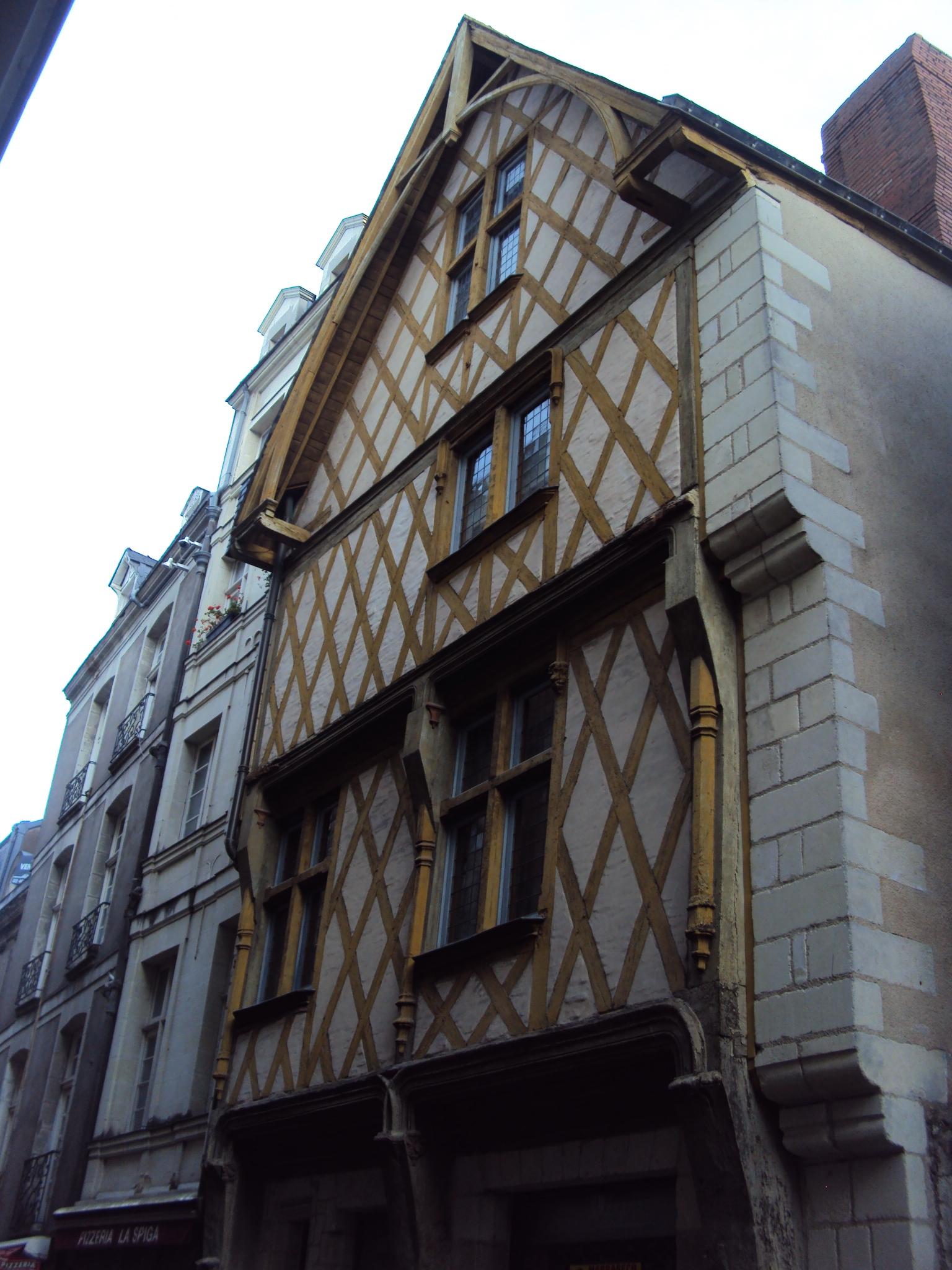 file maison 7 rue de la juiverie nantes jpg wikimedia commons. Black Bedroom Furniture Sets. Home Design Ideas