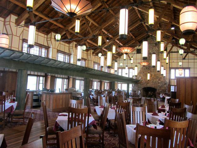 Glacier National Park Lodge Restaurant