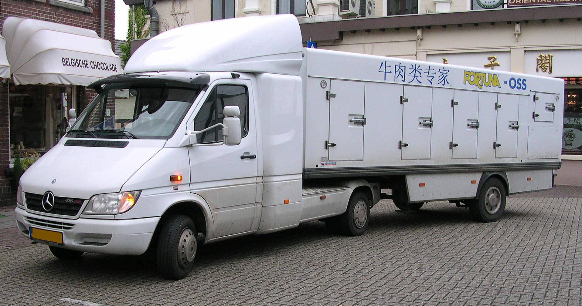 Miniature Camion Mercedes Sprinter Ambulance