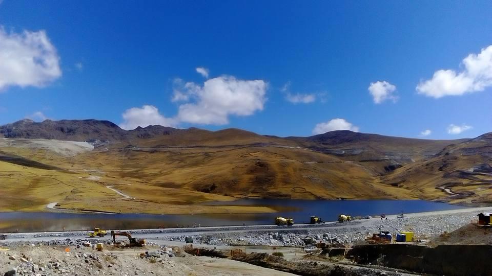 Mina Las Bambas, cerca al lugar de nacimiento de Chabuca Granda.