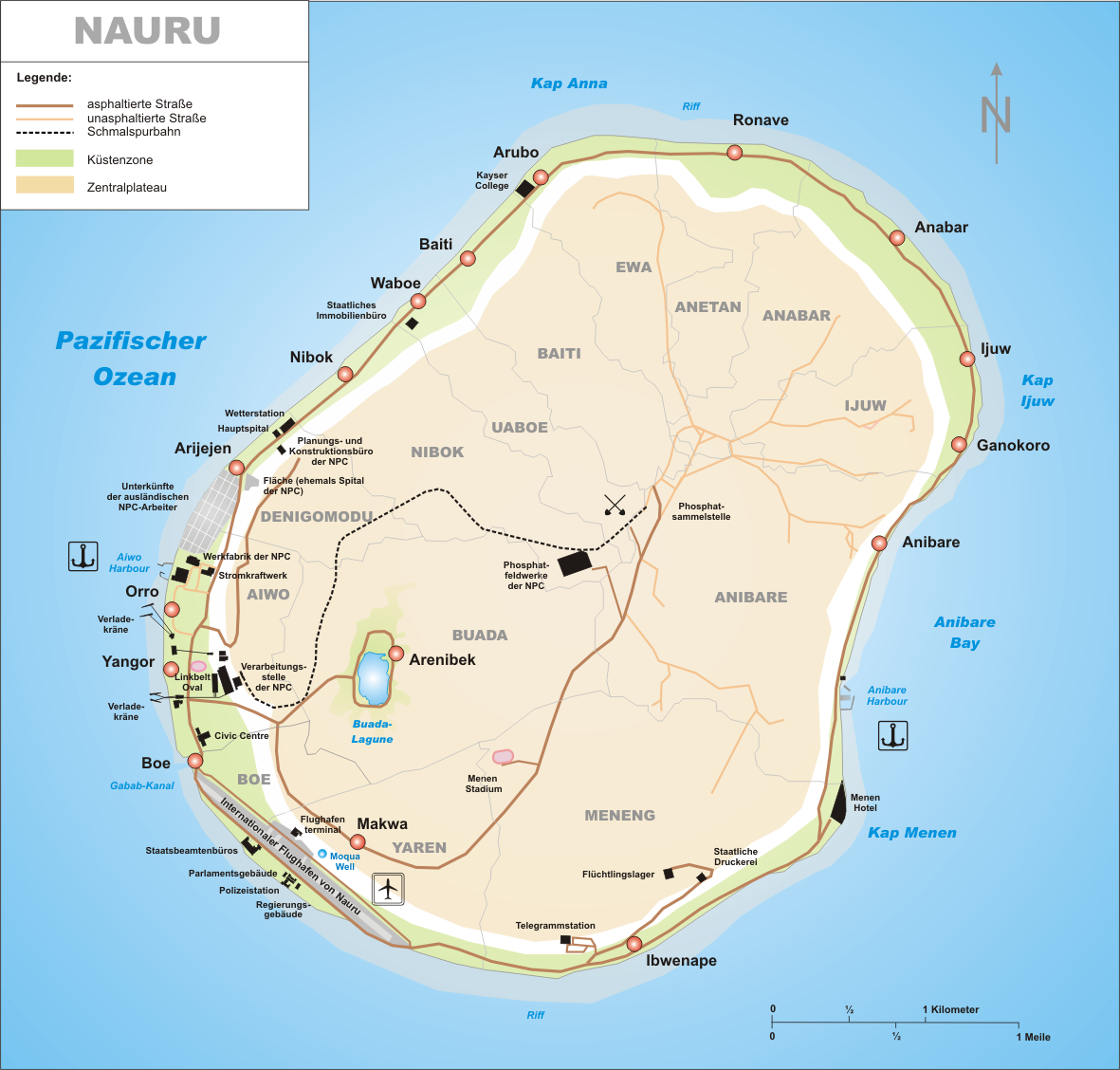 Nauru Road Map