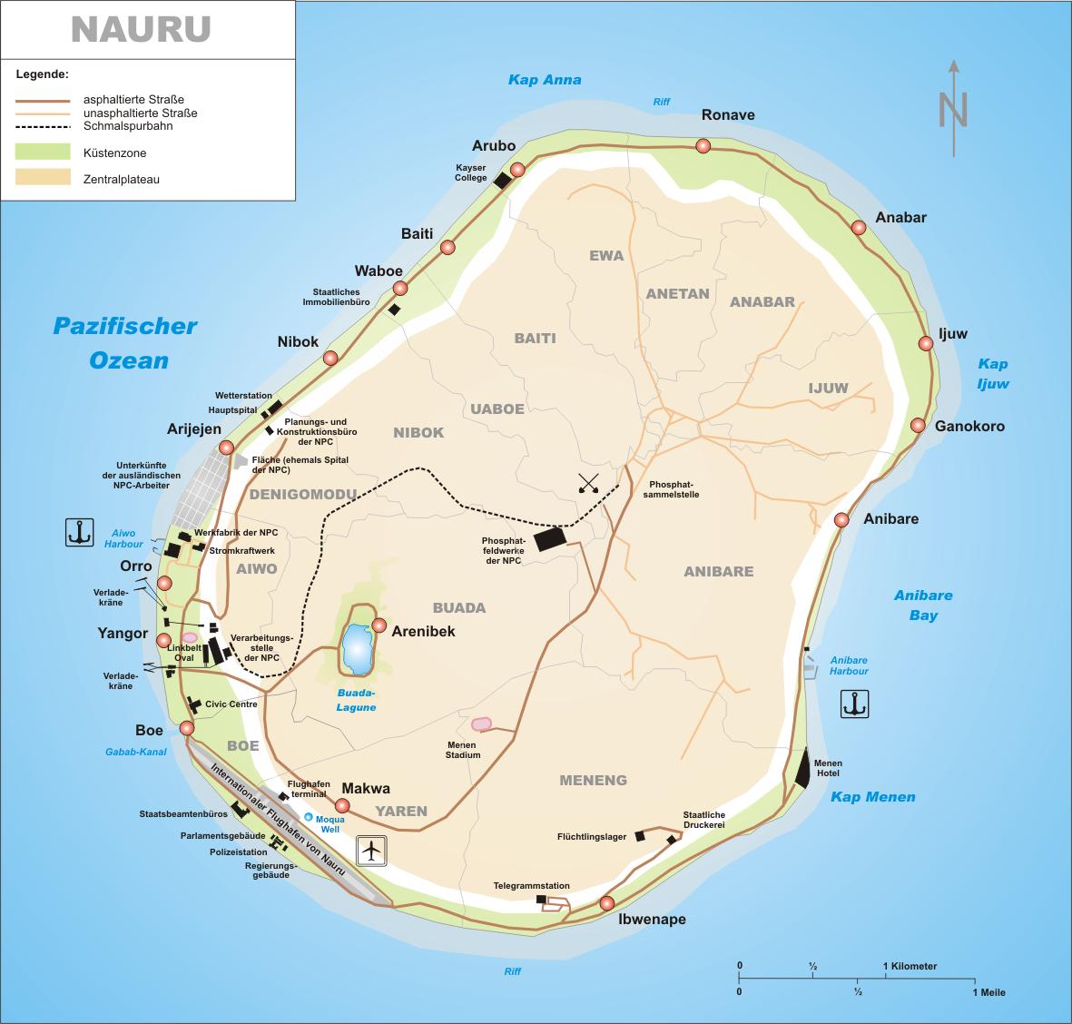 Nauru Road Map
