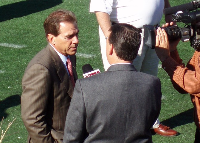 Surviving at the top: Interview with Nick Saban