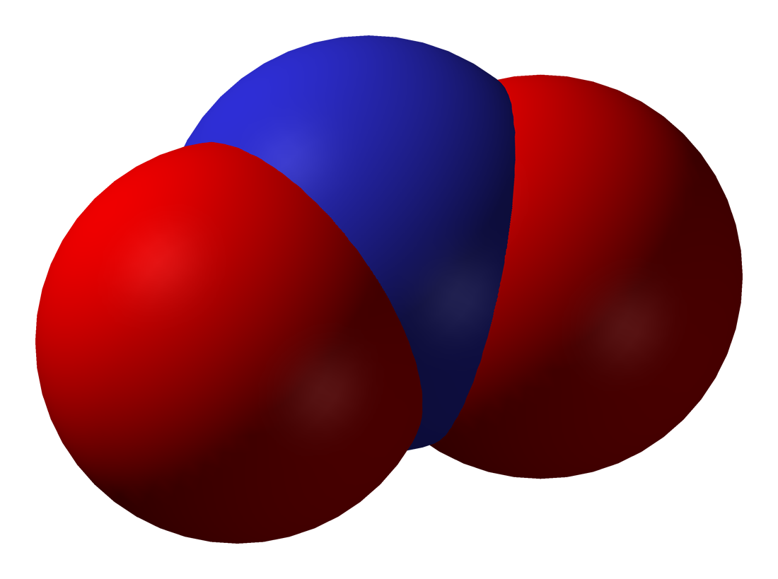 Nitrogen Model 3d File:nitrogen-dioxide-3d-vdw