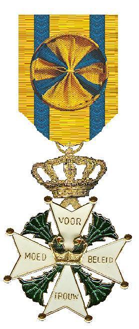 Ridderkruis 3e klasse van de Militaire Willems-Orde