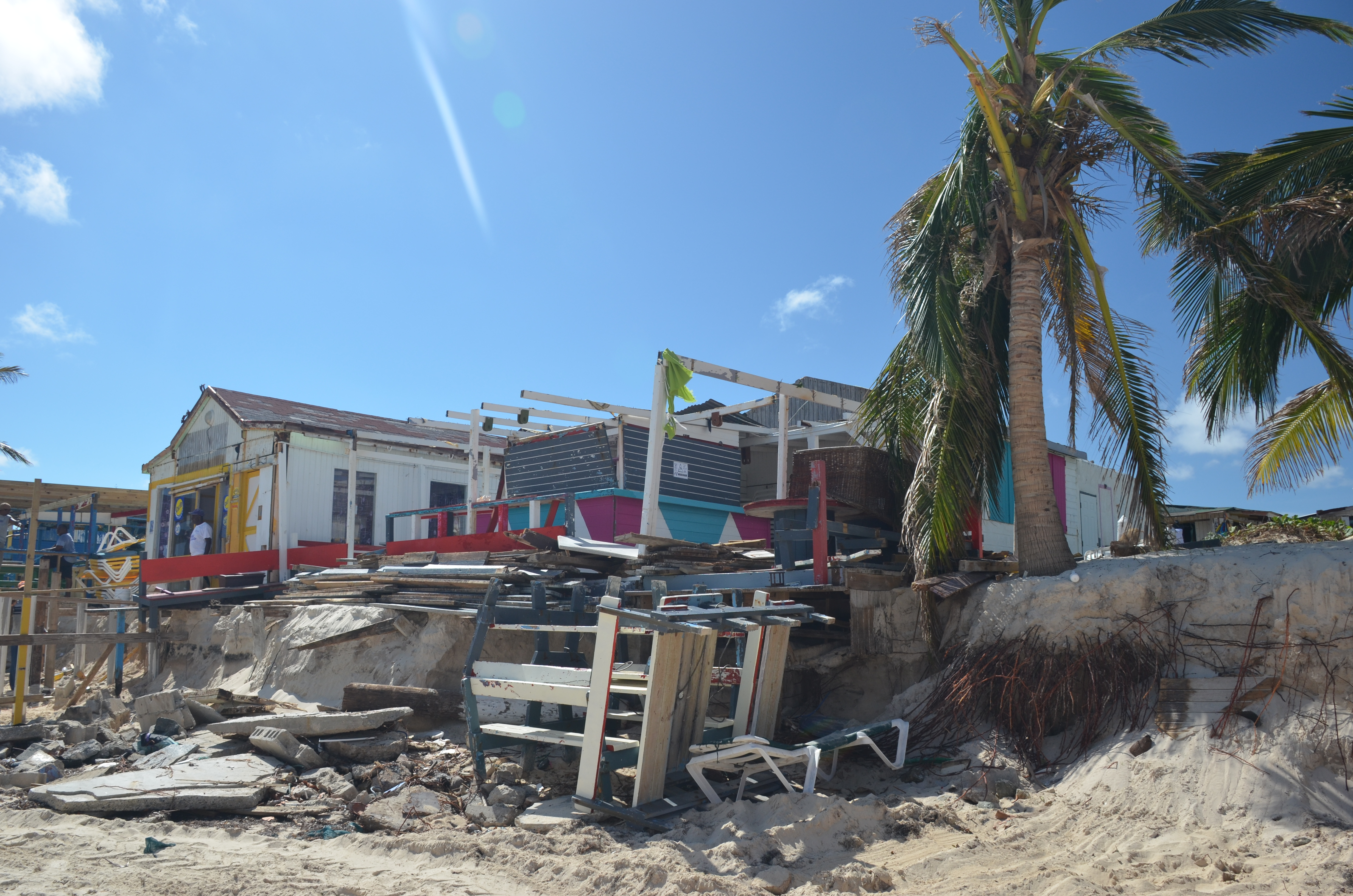 FileOrient Beach After Hurricane Gonzalo St Martin