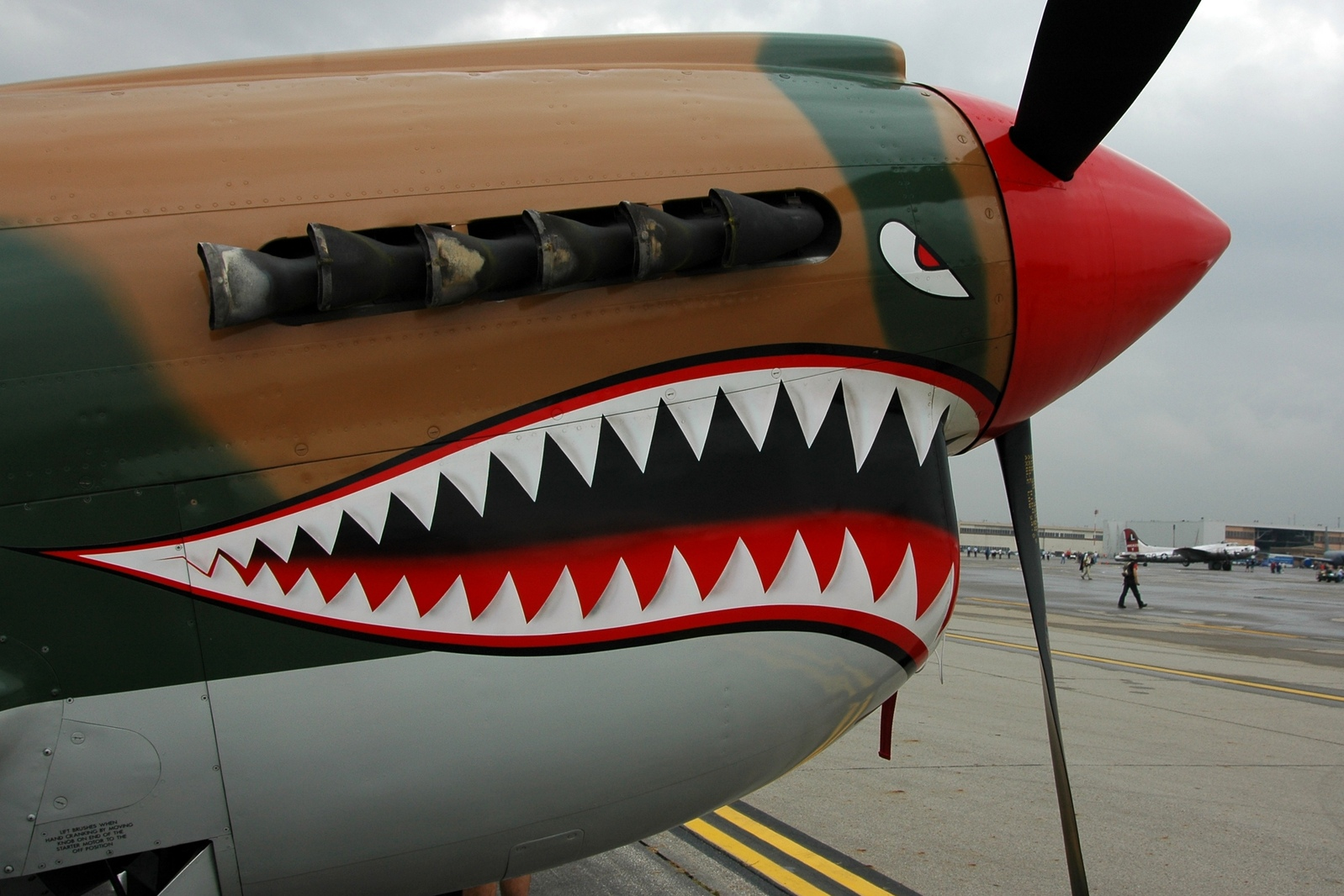 Plane Shark Mouth WW2 http://forums.luxology.com/topic.aspx?f=9&t=49831&page=2