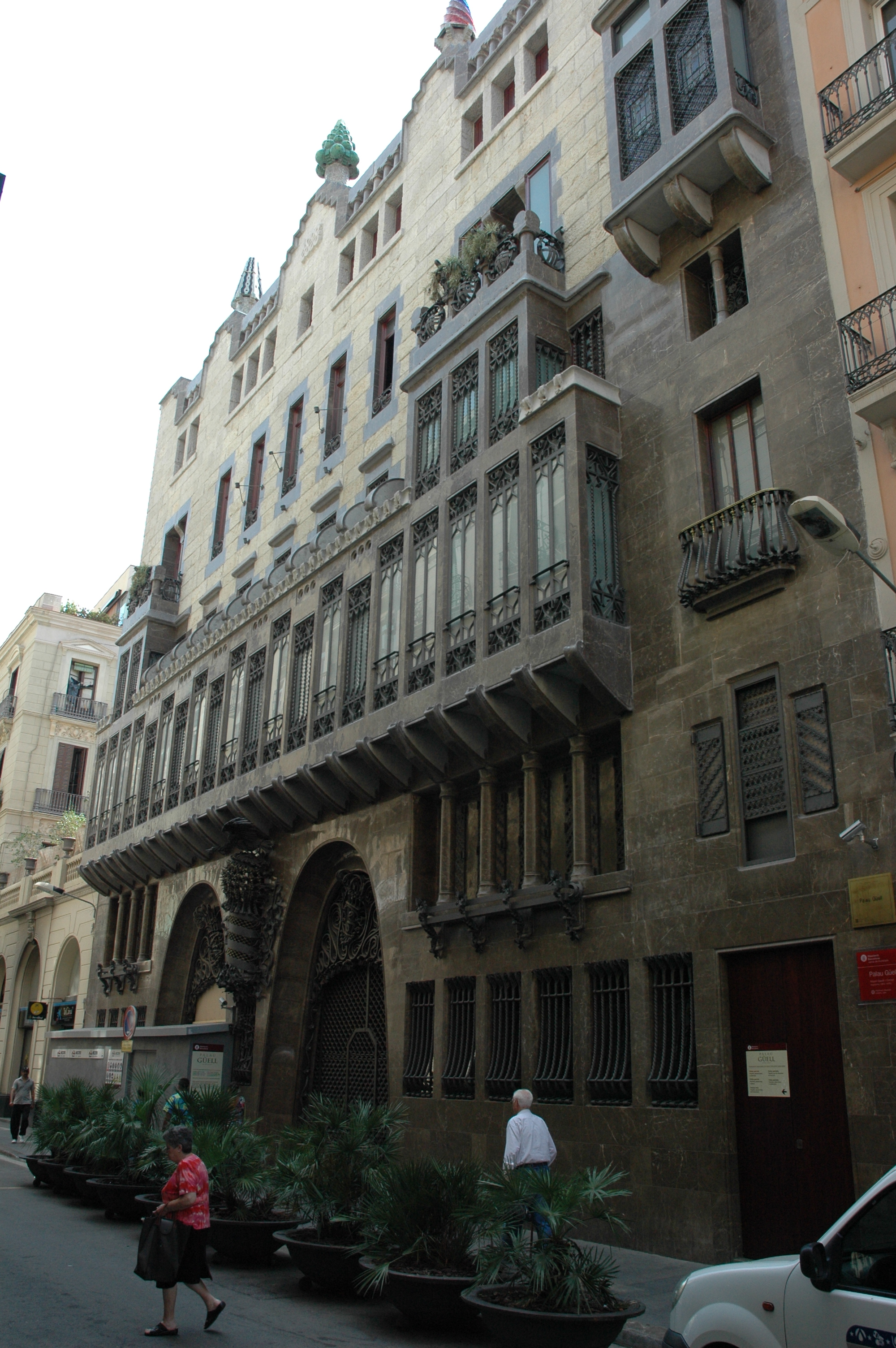 Façana del Palau Güell (Fotografia: Josep Renalias)