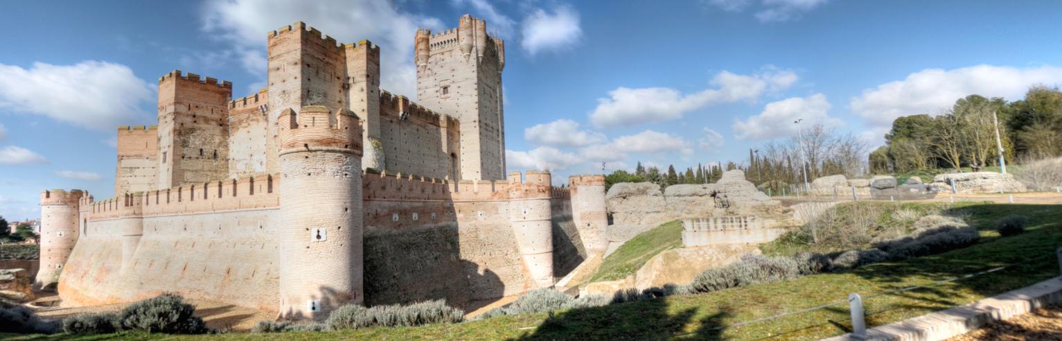 File panoramica castillo de la mota medina del campo - Spa en medina del campo ...