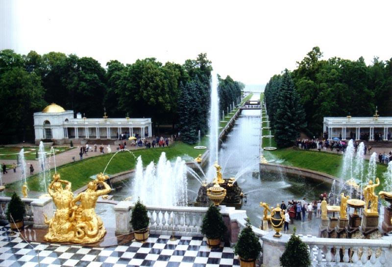 arredores de São Petersburgo- Peterhof