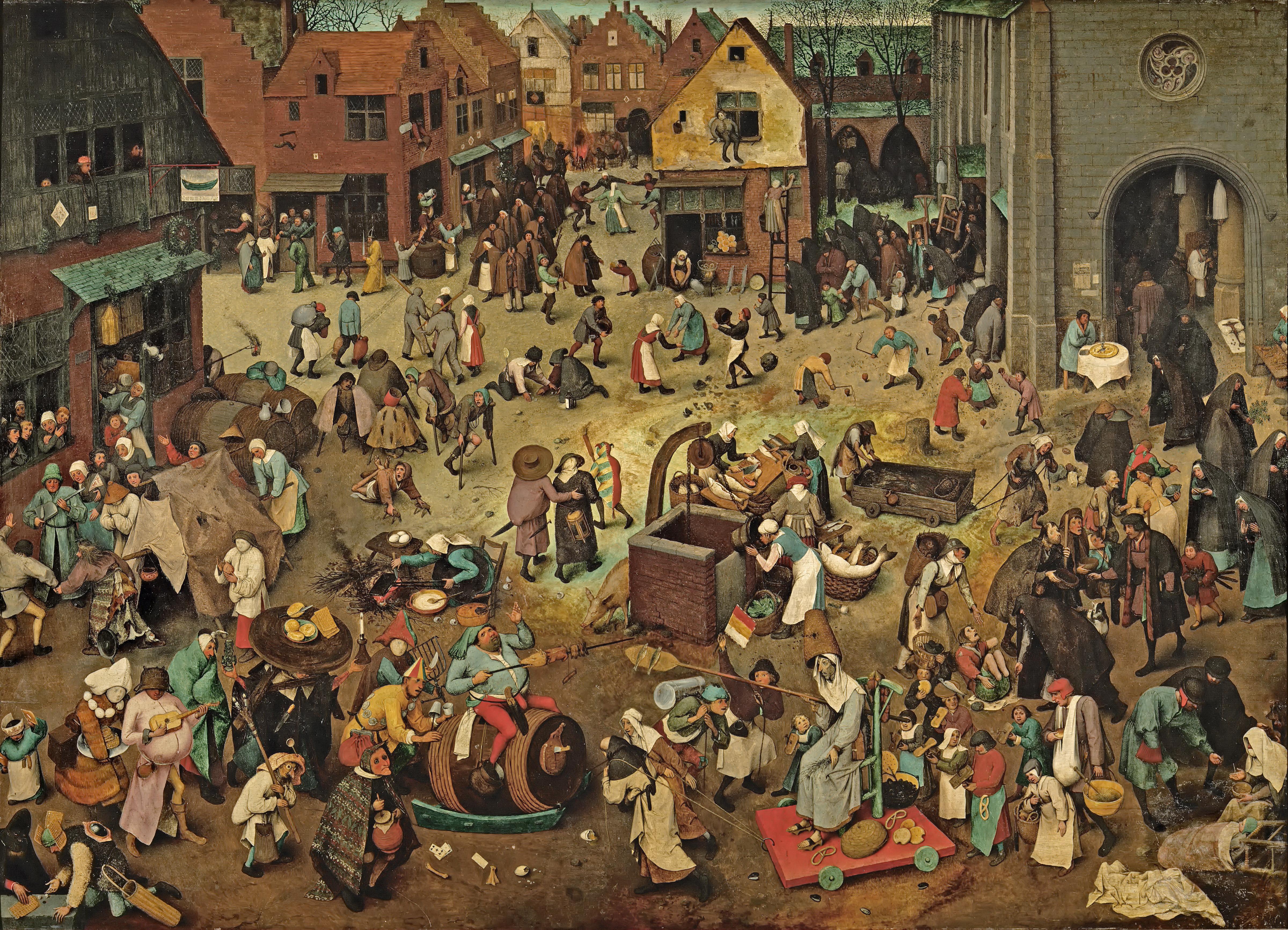 бахтин, Творчество Франсуа Рабле и народная культура средневековья и Ренессанса, карнавальная культура, гаргантюа и пантагрюэль