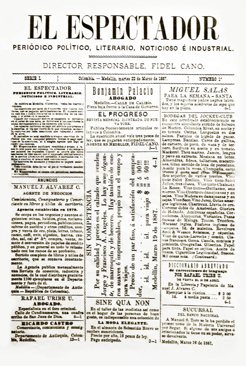 El Espectador (periódico) - Wikipedia, la enciclopedia libre