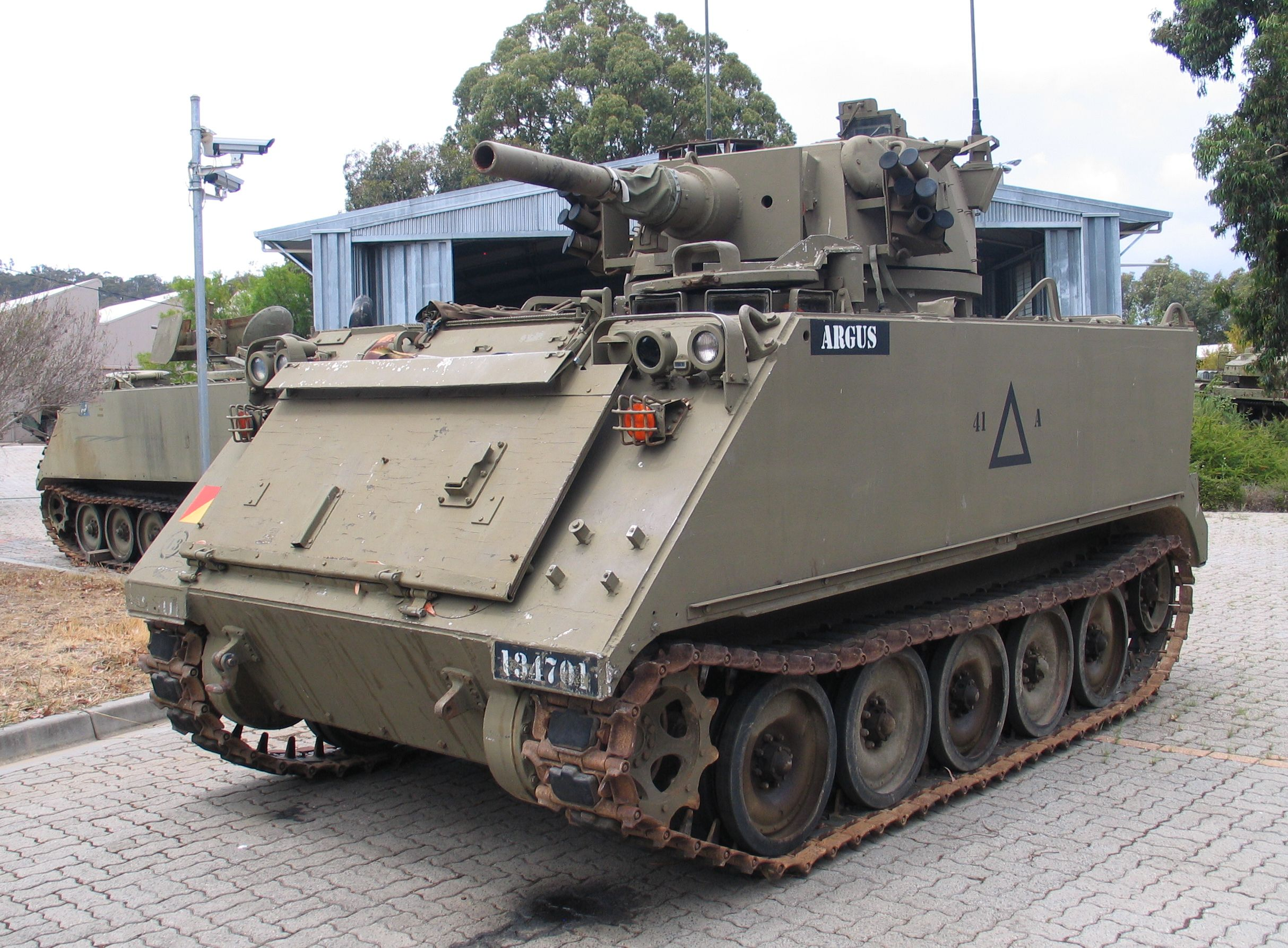 Army Tank For Sale Usa >> File:Puckapunyal-M113-FSV-3-1.jpg - Wikimedia Commons