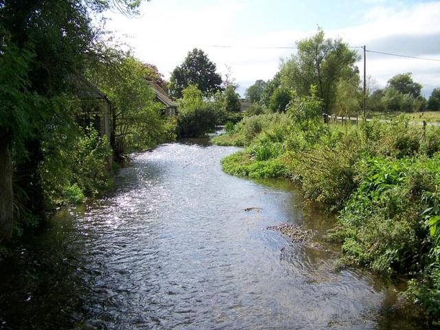 River Wylye, Heytesbury - geograph.org.uk - 1479537