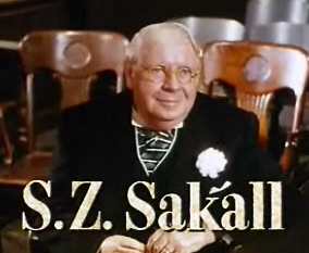 S. Z. Sakall Hungarian actor