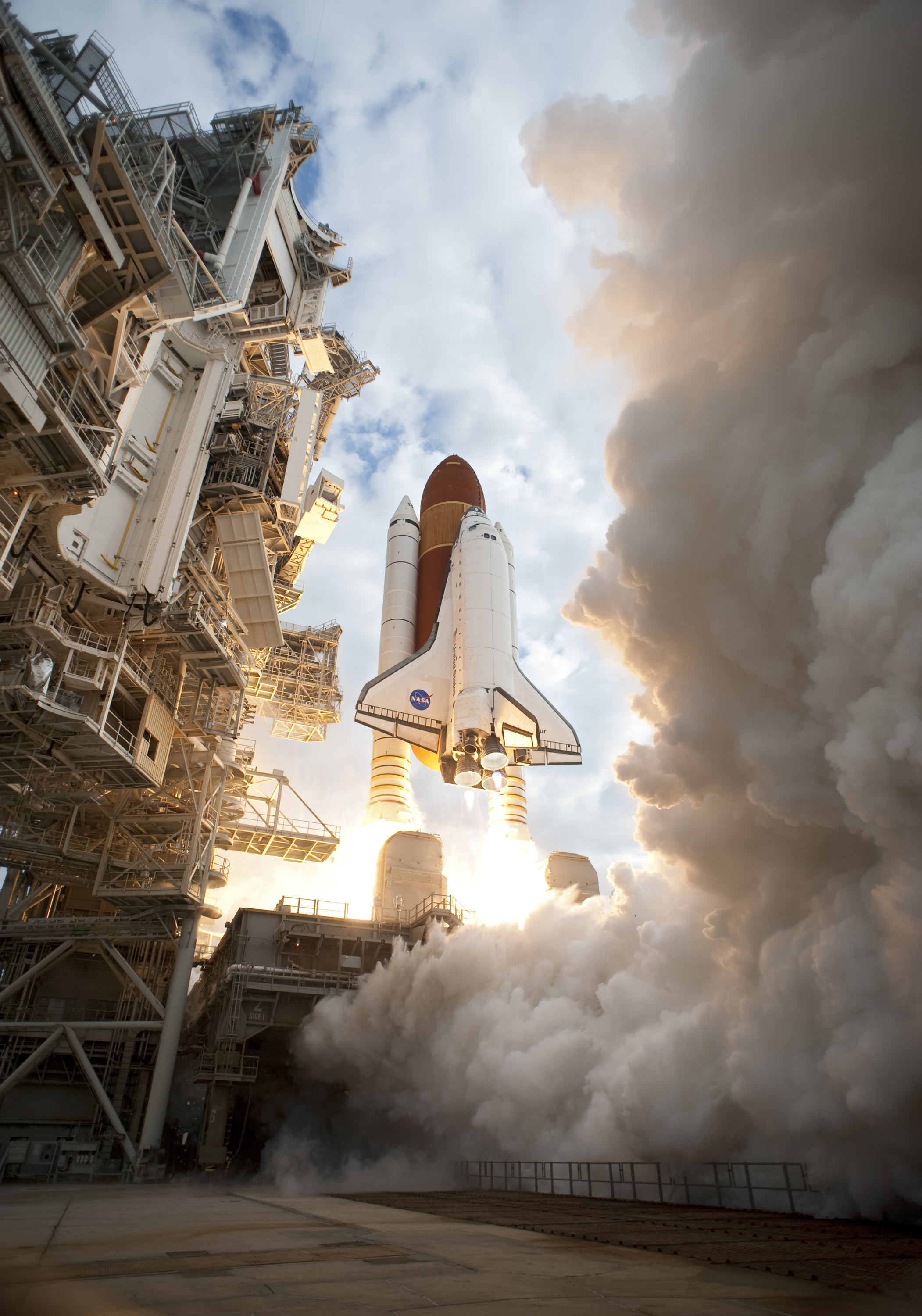 launch space shuttle boosters - photo #27