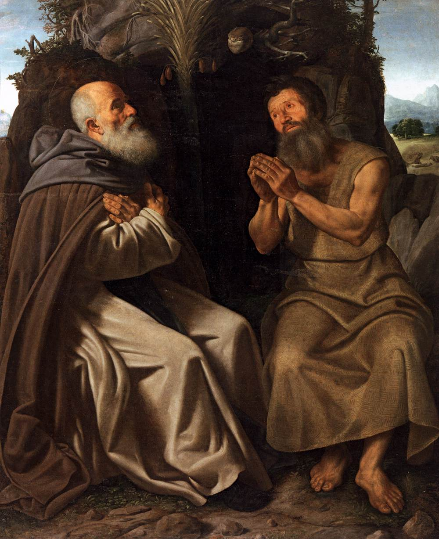 Savoldo, santi antonio abate e paolo.jpg