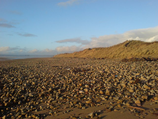 Shore at Kenfig nature Reserve - geograph.org.uk - 307039