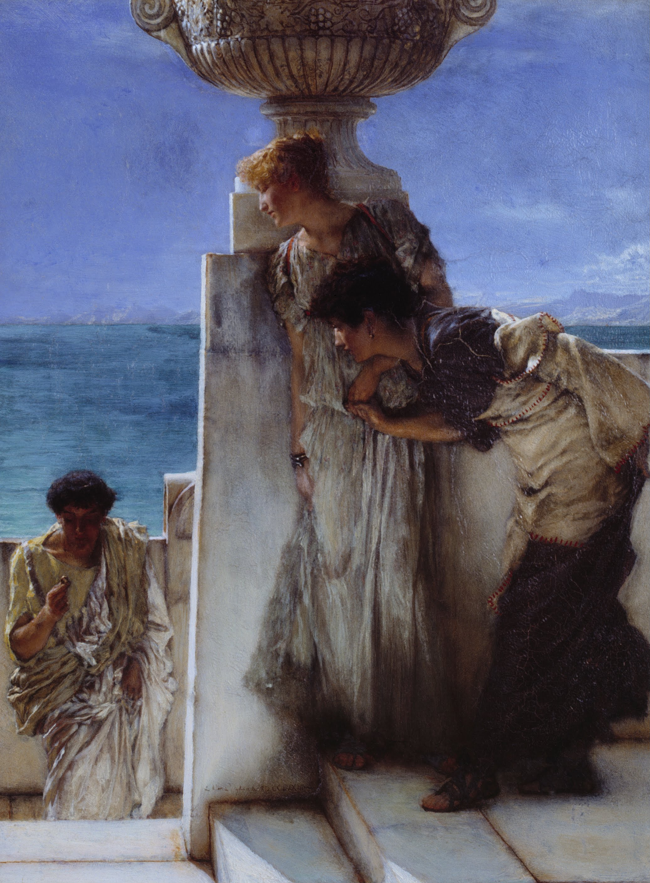 Sir lawrence alma tadema brilliant