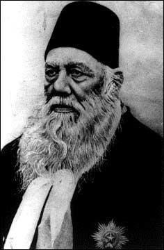 Sir Syed, the founder of Aligarh movement.