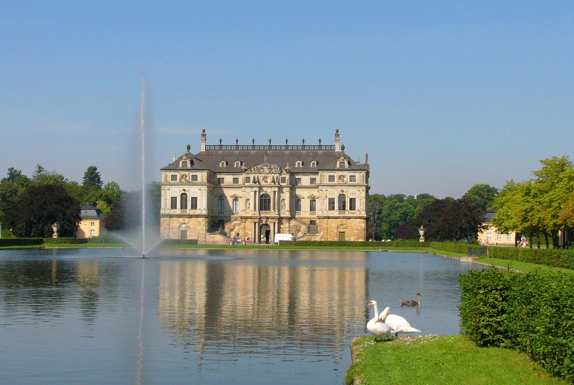 Palais Im Grossen Garten Wikipedia
