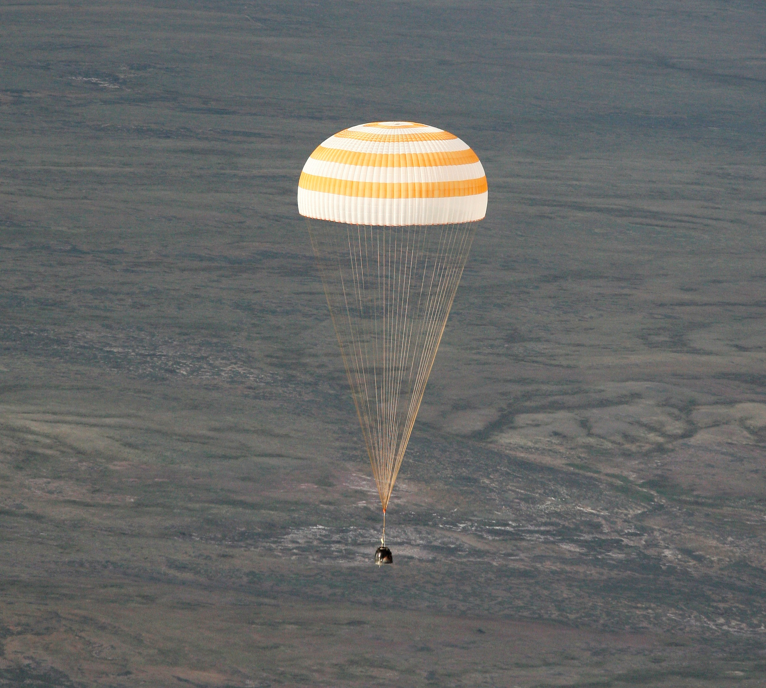 Image result for soyuz tma-9 landing